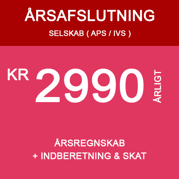 årsafslutning for IVS og APS